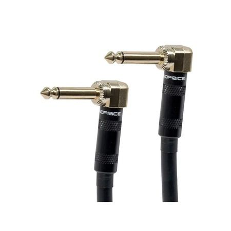 Monoprice 9780 Ts Guitar Pedal Cable,right Angles,8