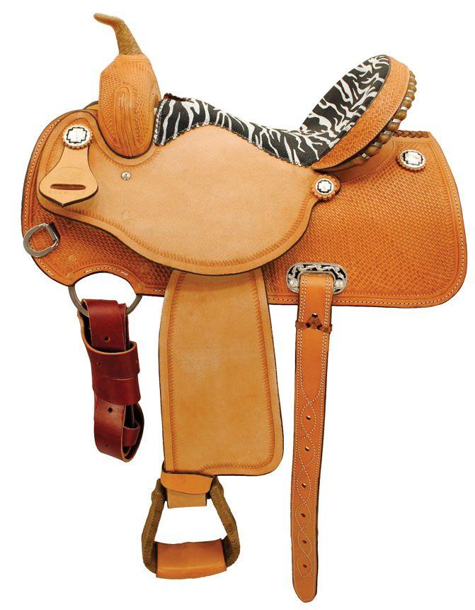 Ozark Saddles Ozark Saddle King Of Texas Red Exotic Champion