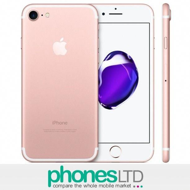 Apple Iphone 7 Rose Gold 32gb 128gb 256gb Compare The Cheapest