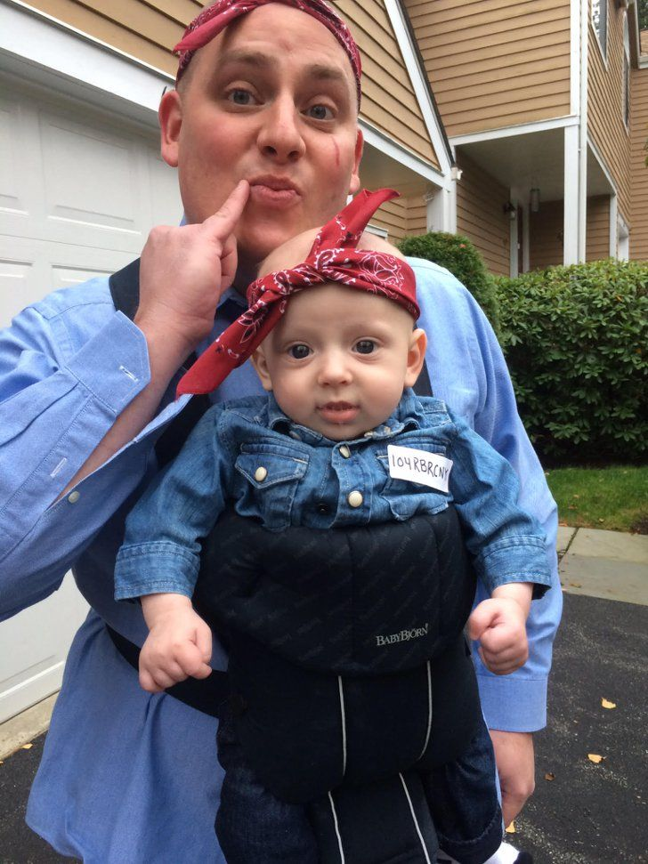 5 epic halloween costume ideas for your bald headed baby