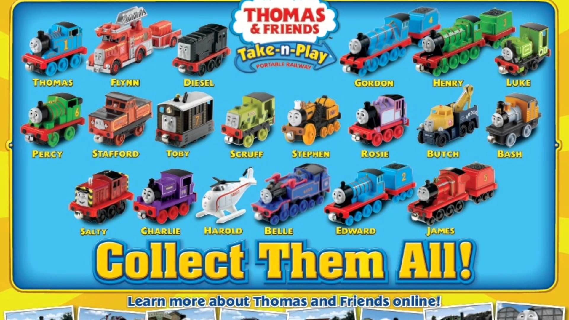 Thomas And Friends Characters Names
