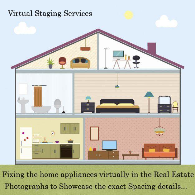 Real Estate Virtual Staging Services Interior Design Services