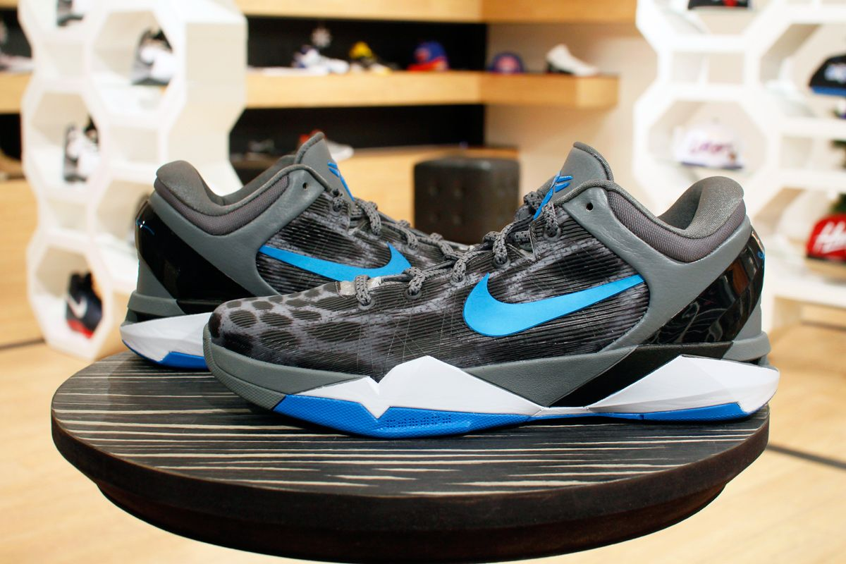 Nike Zoom Kobe VII - Grey Cheetah or Snow Leopard print ...