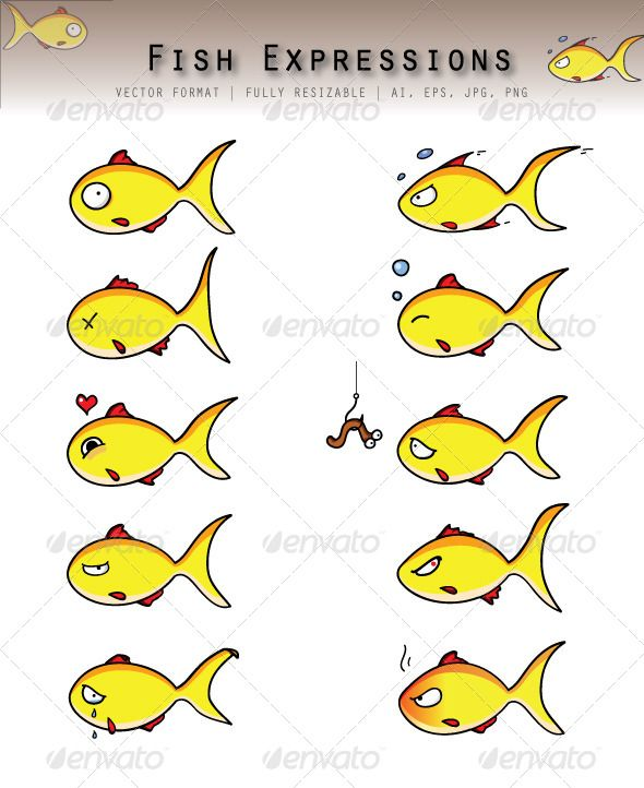 Fishing Pole And Fish Fish Fish Coloring Page Emoji Stickers