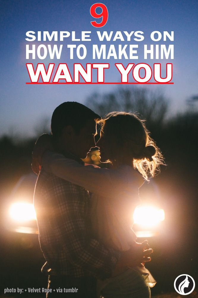 what to say to make him want you sexually