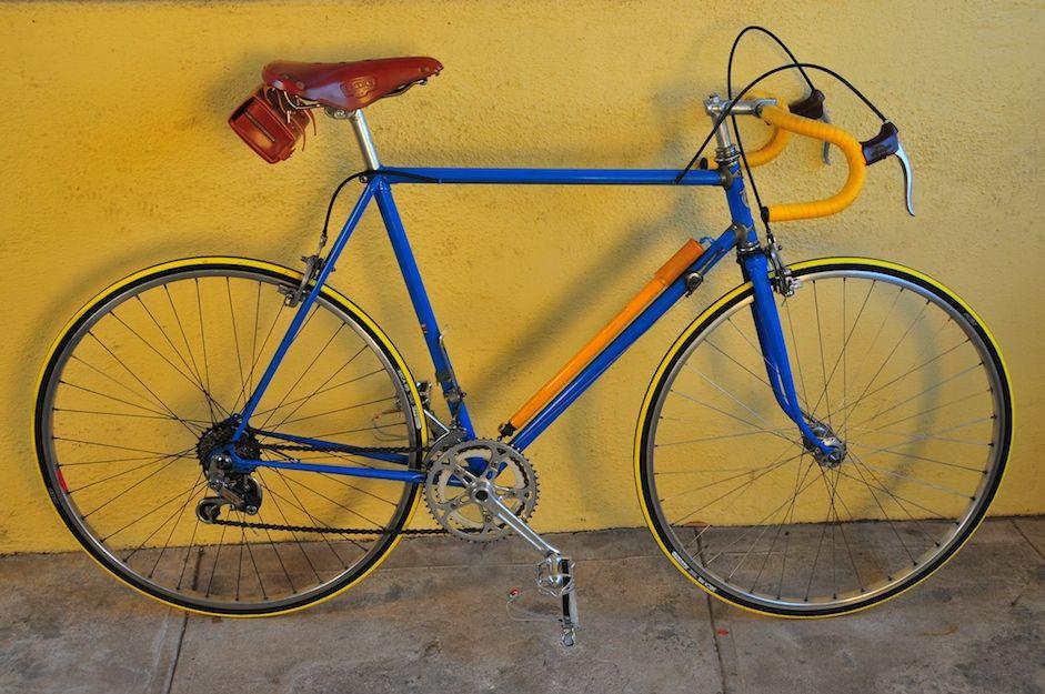 Vintage Bicycle Yellow Brake Hoods Google Search Bicycle Vintage Bicycles Yellow
