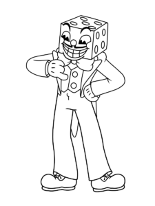 Cuphead Coloring : cuphead, coloring, Cuphead, Manga, Coloring, Book,, Books,, Pages