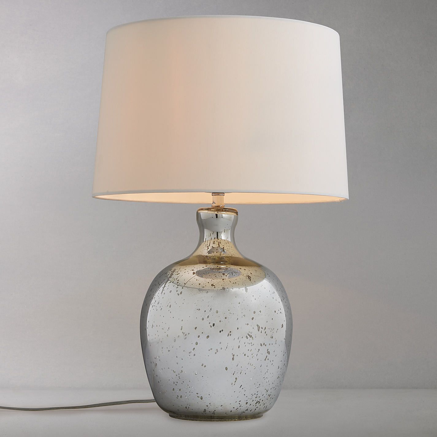 Httpsjohnlewisene7isimagejohnlewis231895027alt4 buy john lewis tabitha distressed mirror table lamp from our table lamps range at john lewis geotapseo Image collections