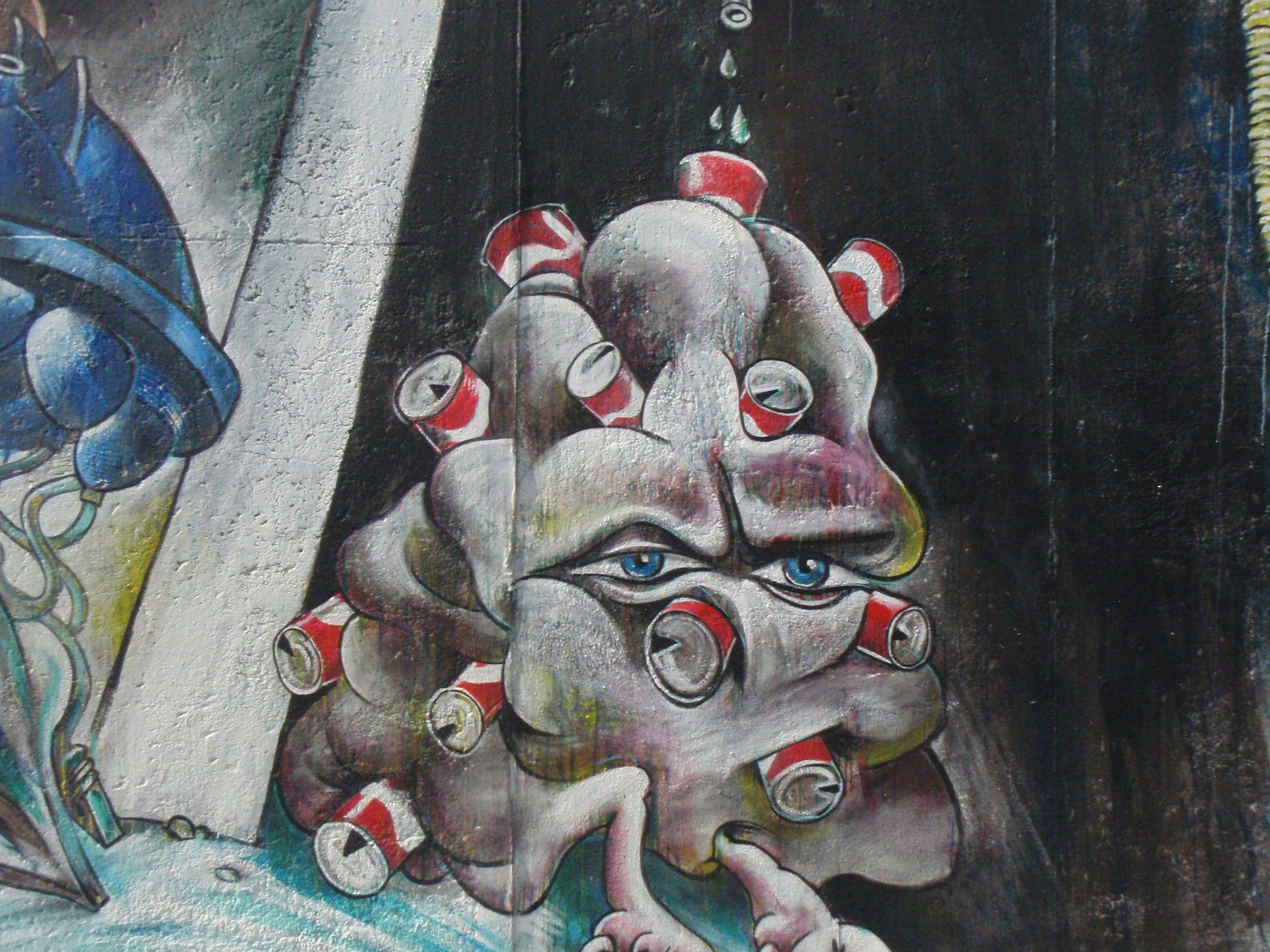 Berlijn straat kunst.