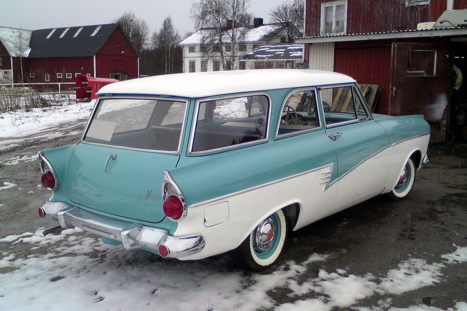 1958 Ford Taunus 17m De Luxe Turnier