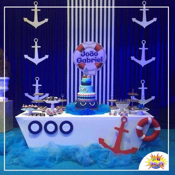 Resultado de imagen para decoracion nautica para fiestas tem tica n utica pinterest - Fiesta marinera decoracion ...