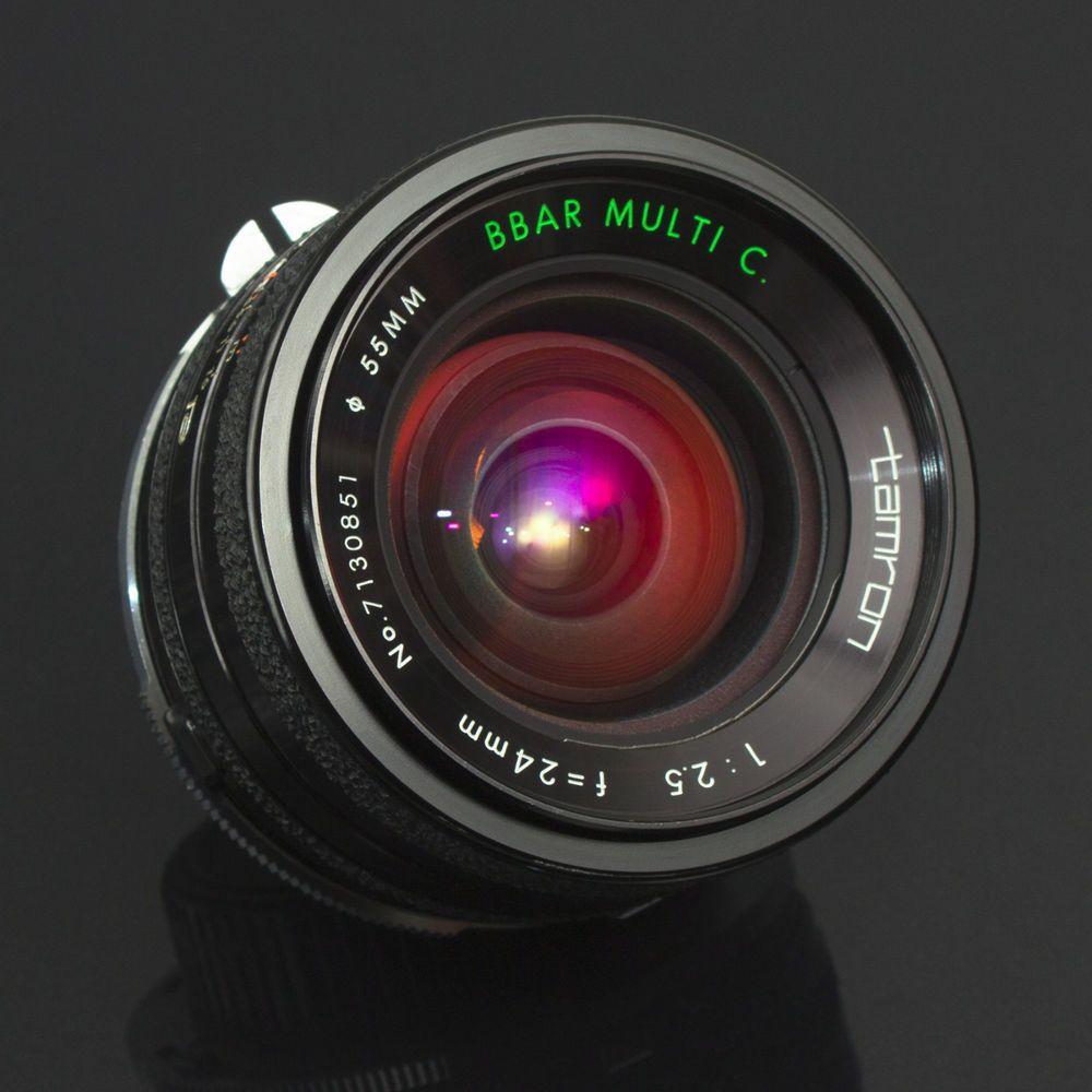 Tamron 24mm F2.5 BBAR Wide Angle Prime LENS Adaptall Nikon F Ai Full ...