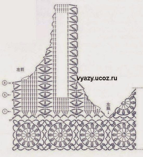 Free Crochet Charts and Explanation for Vintage Timeless