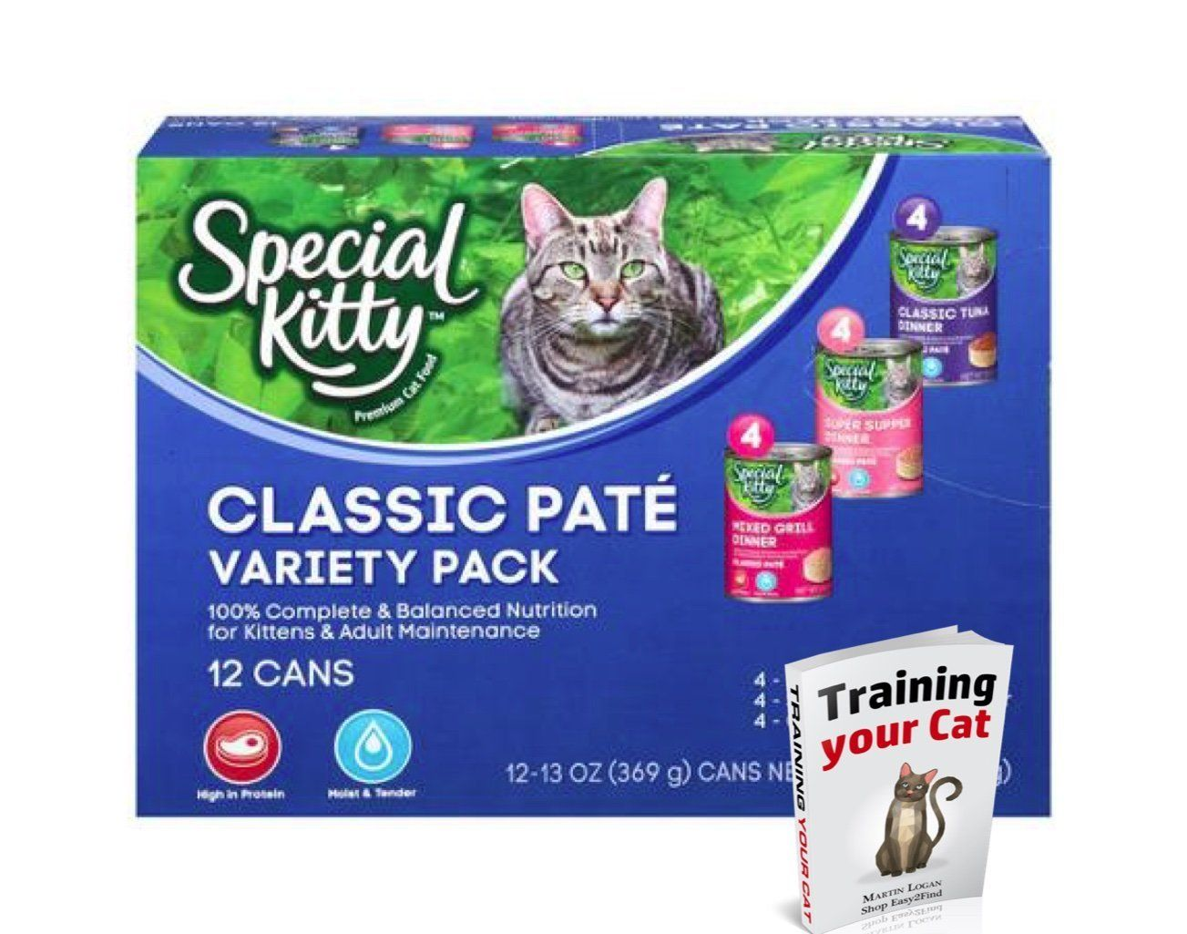 12 Piece Science Cat Kitty Pet Wet Food Nutro Natural