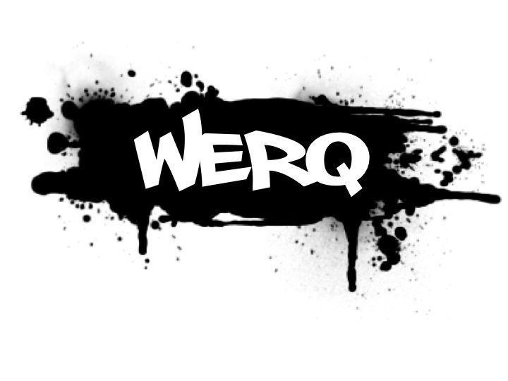 #WERQ #dance #fitness #werqout spray paint www.werqfitness.com #familyfitnesscenter #fitnessdance