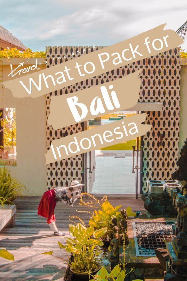 Bali is one of the prettiest places I've been to and has amazing climate. Perfect for a tropical getaway! To help you out, here is your ultimate female packing list for Bali. No more wondering what to pack for Bali!