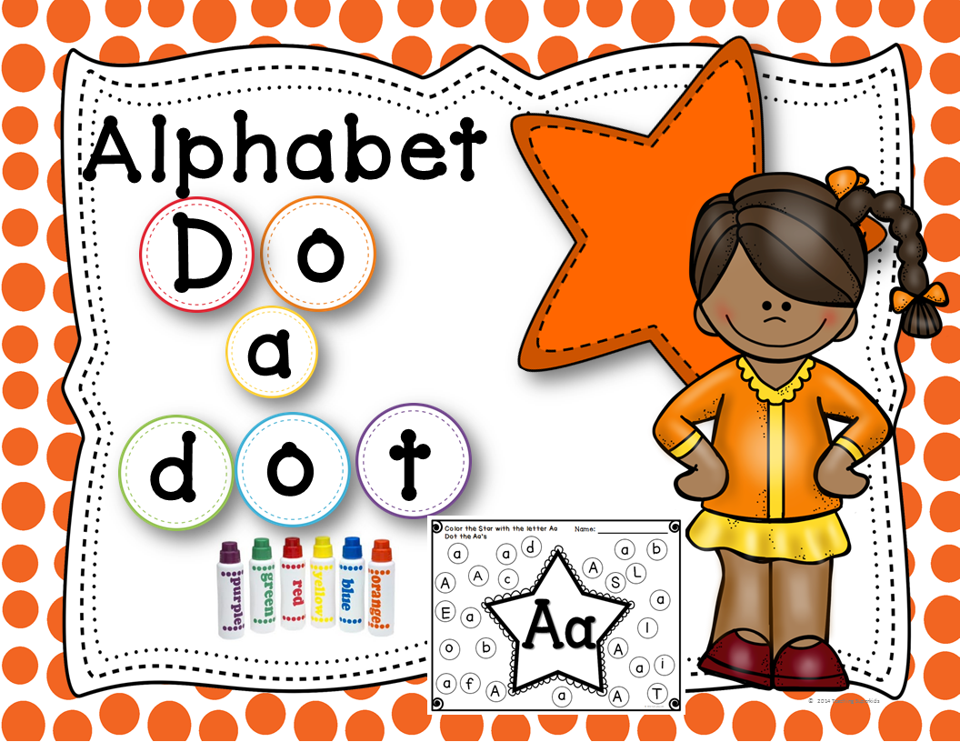 Alphabet Activities Dab A Dot