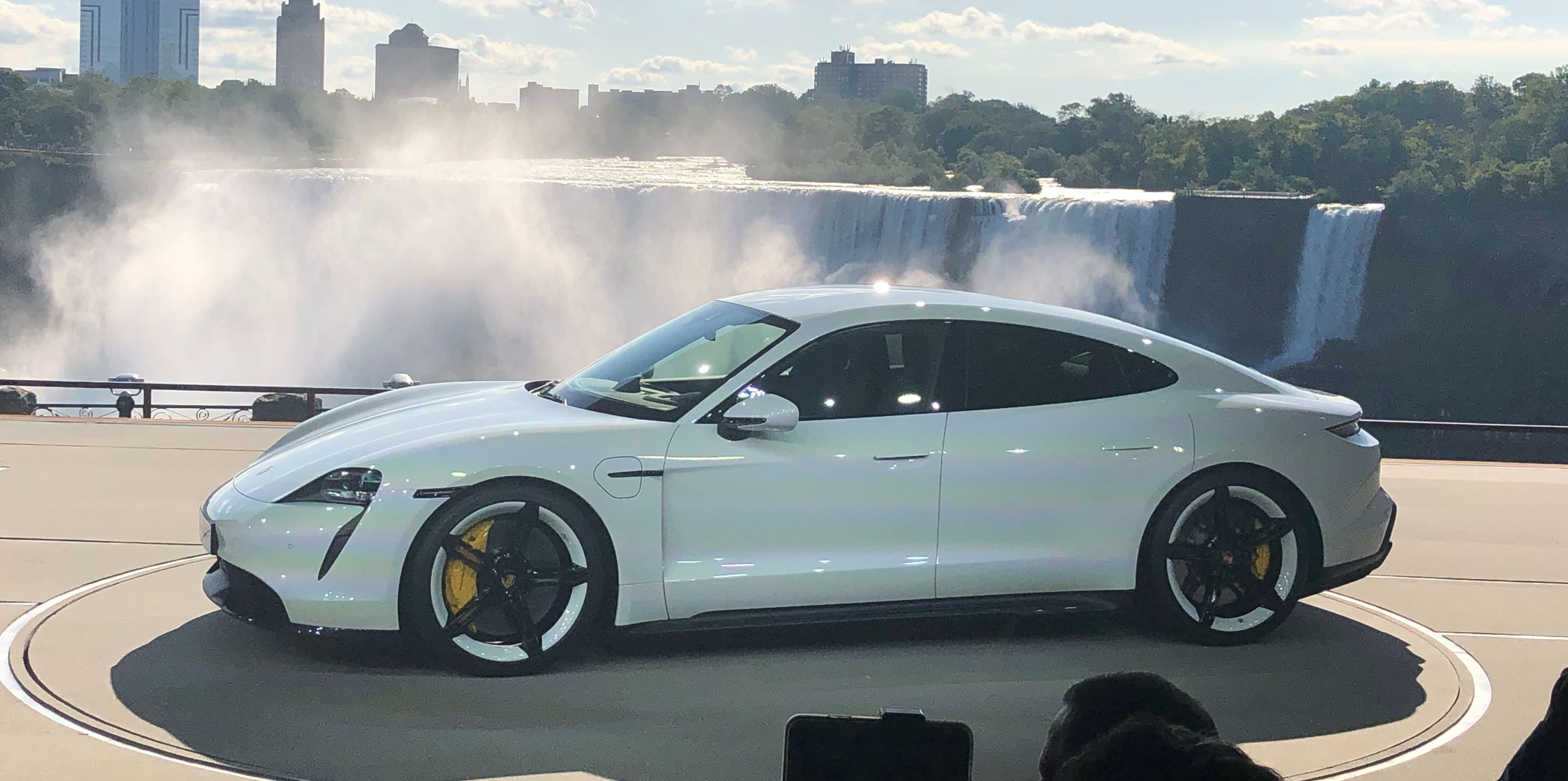 Porsche Unveils Taycan Electric Car Up To 280 Miles Of Range And As Stunning As The Concept Porsche Taycan Porsche All Electric Cars