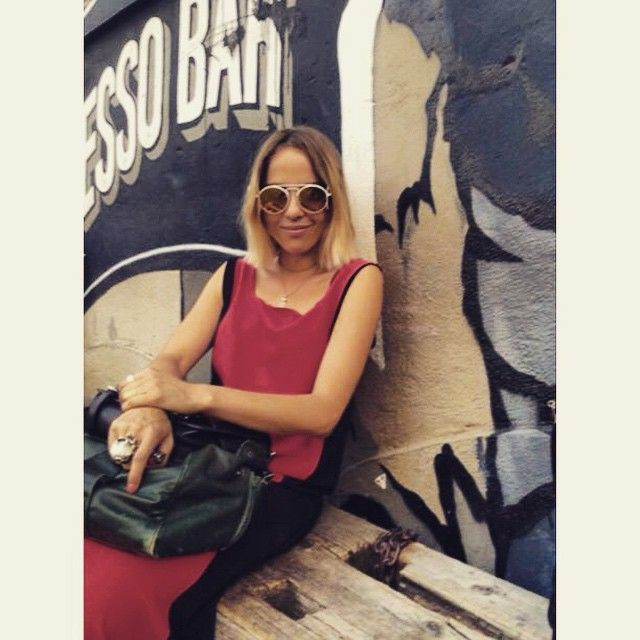 Fashion Stylist Kate Carnegie wears Anderne in Bushwick by Lire De Sales