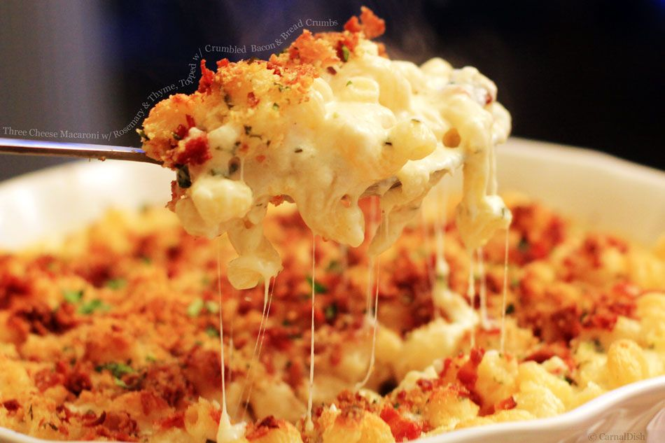 Grown Up Bacon Mac Cheese Recipe With Images Food Recipes