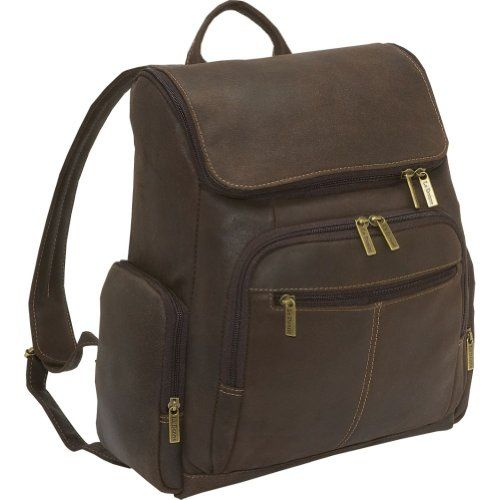 Le Donne Leather Distressed Leather Computer Backpack,One Size,Chocolate LeDonne http://www.amazon.com/dp/B003LCVJCC/ref=cm_sw_r_pi_dp_qYgTub12FV7D8