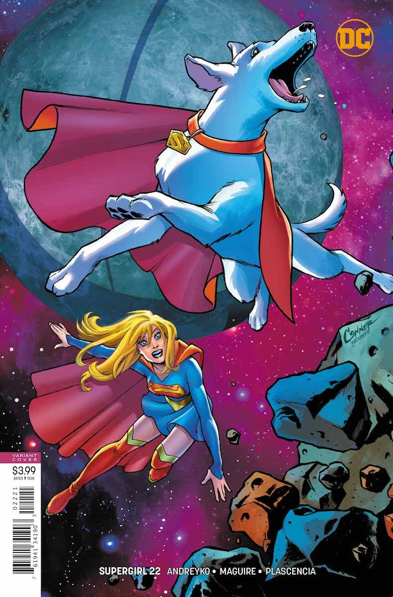 Review Supergirl 22 Supergirl vs. the Green Lantern
