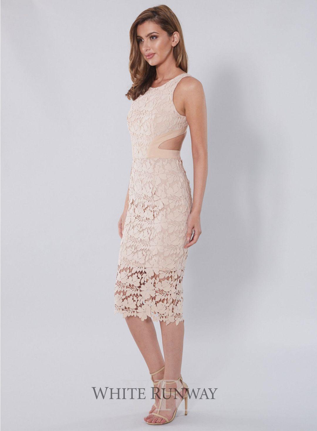 20% off! amalia lace cutout dress. a gorgeous full length dress