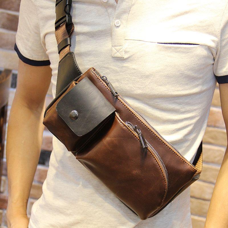 8a14cca12173 Мужская сумка через плечо кожаная своими руками | мужские сумки кож ...