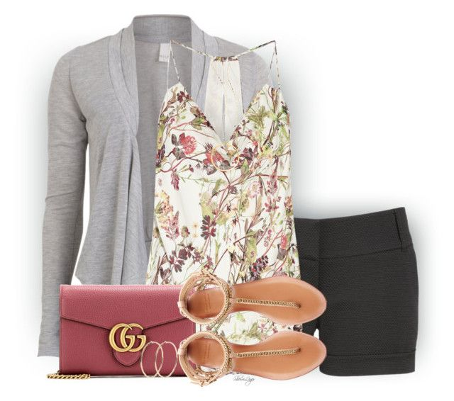Untitled #2576 by sherri-leger on Polyvore featuring polyvore, fashion, style, Haute Hippie, VILA, maurices, Zara, Gucci, Lana and clothing