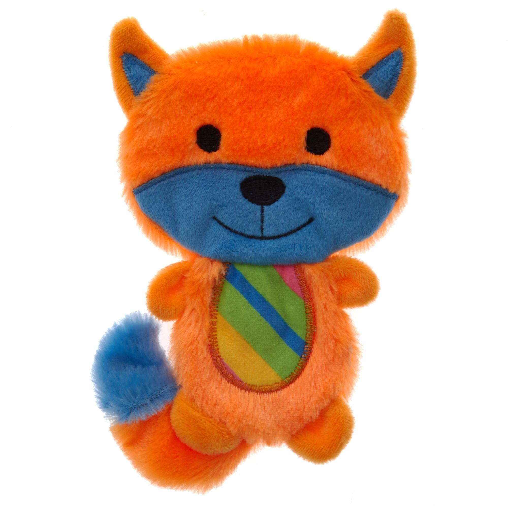 Top Paw Raccoon Flattie Dog Toy Crinkle Dog toys