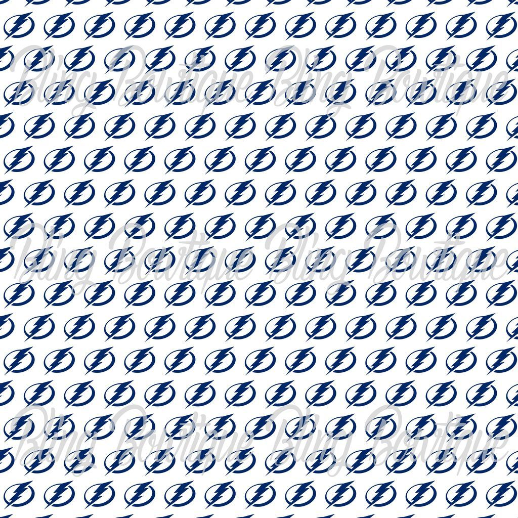 Tampa Bay Lightning Glitter Canvas Regular Canvas Faux Leather For Bows Glitter Canvas Custom Printed Fabric Printing On Fabric [ 1024 x 1024 Pixel ]
