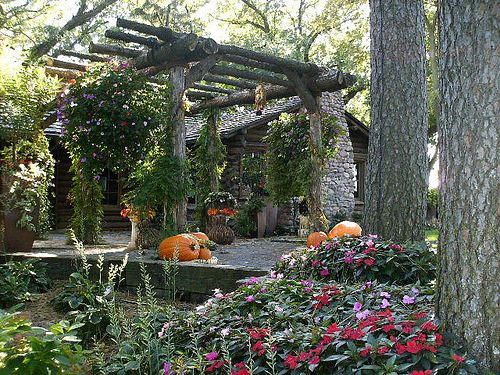 Landscape Design And Installation Of Fall Decor From Lanoha Nurseries In Omaha Nebraska