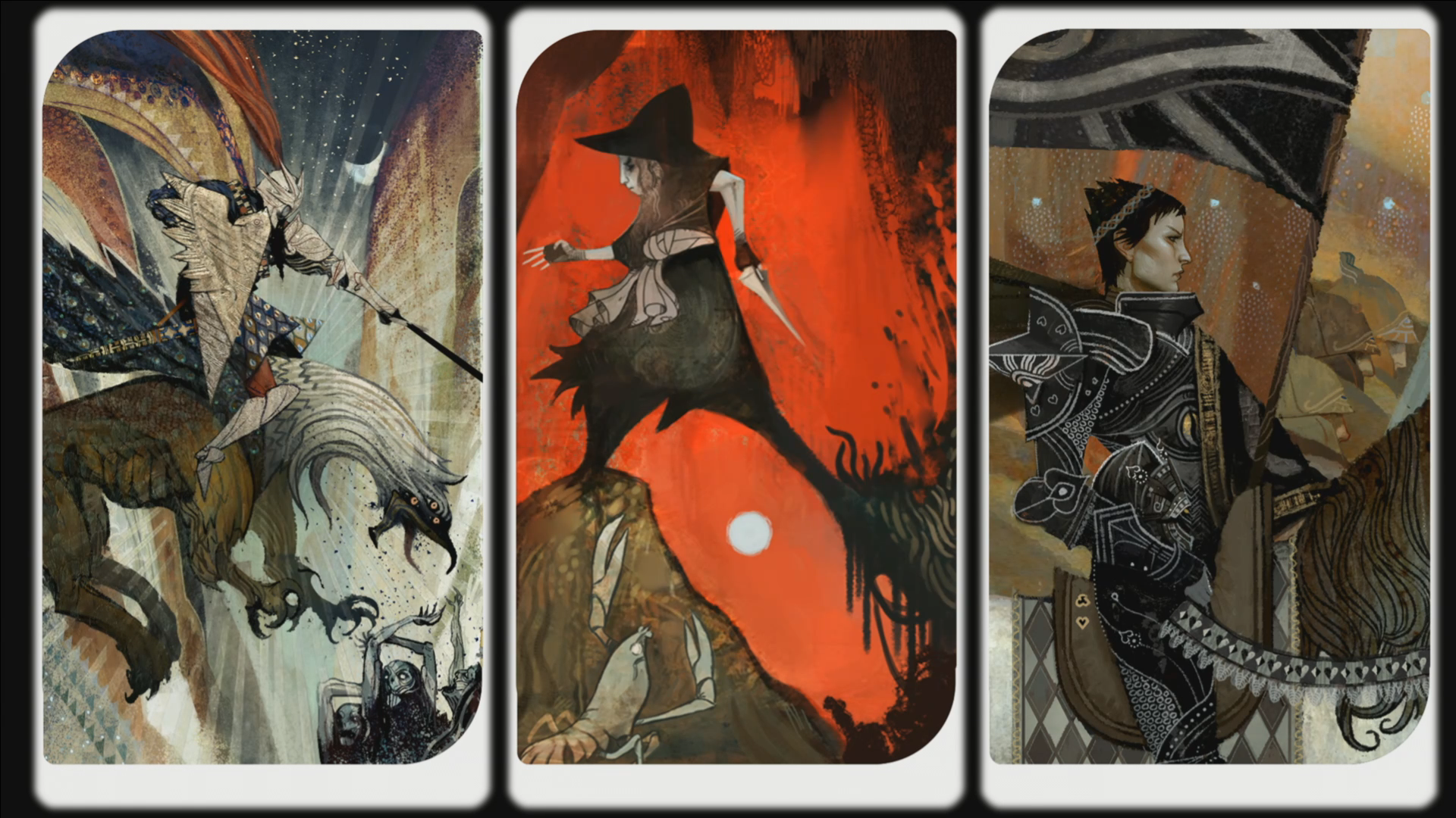 Class Concepts From Dragon Age The Inquisition In Tarot Style WWWINFINITEMARKETINGINFO