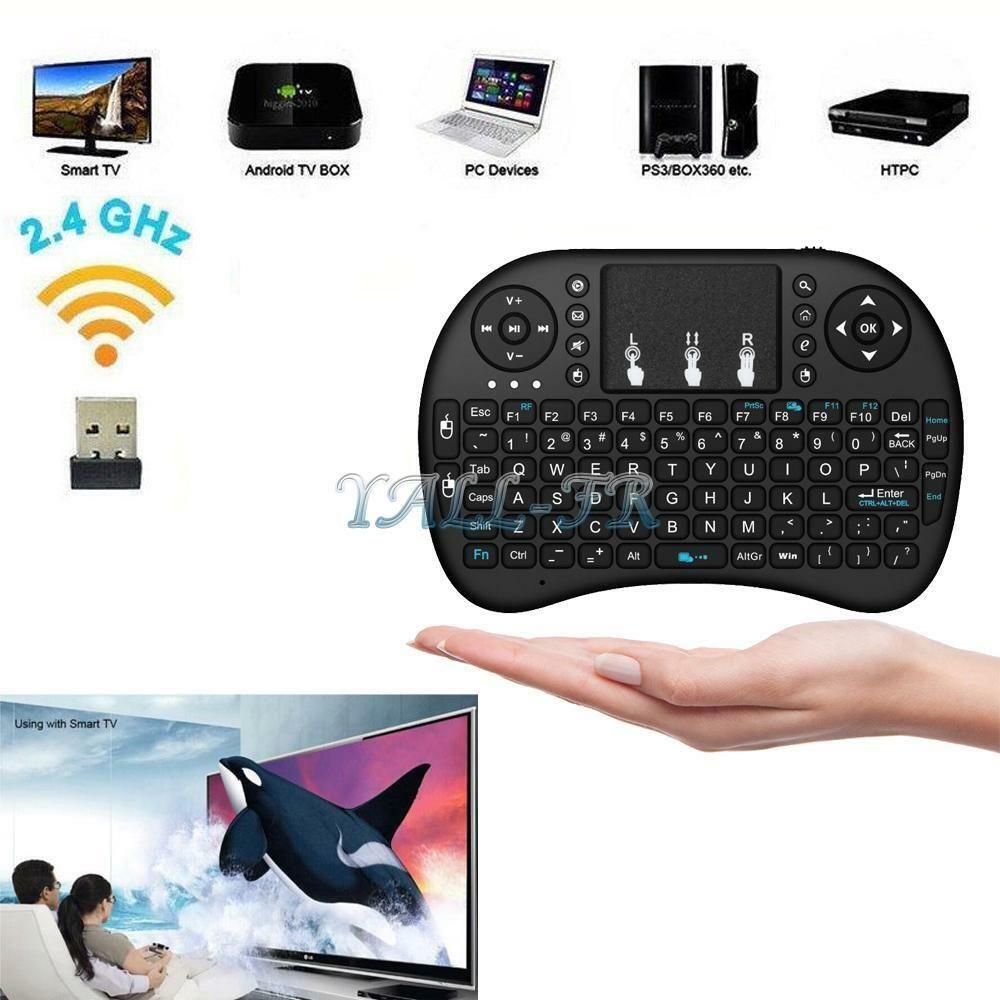 Details about 1x 2.4Ghz Mini Wireless Keyboard Remote