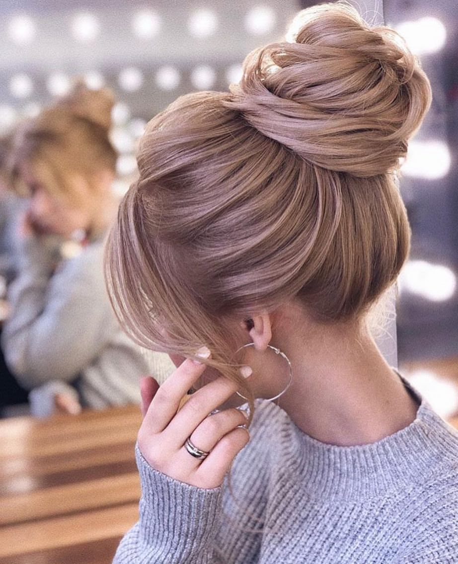 Instagram Da Hairstyle Catalogue Perfect Hair By Xenia Stylist Hair Hairstyle Hair Styles Bun Hairstyles For Long Hair Wedding Bun Hairstyles