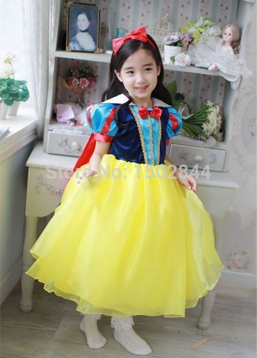 73868e5a0 Snow White Princess Tutu Dress Costumes Kids Outfit Cosplay Fancy Girls Dressing  Up-in Costumes from Apparel & Accessories on Aliexpress.com | Alibaba Group
