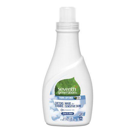 Seventh Generation Free Clear Fragrance Free 42 Loads Liquid