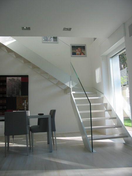 Escalier ouvert en bois escalier ouvert sandrini scale - Escalier ouvert ...