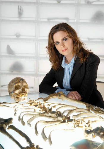 An influential person is Temperance Brennan. Shes not really a forensic anthropologist but she plays a very good one in her show Bones.