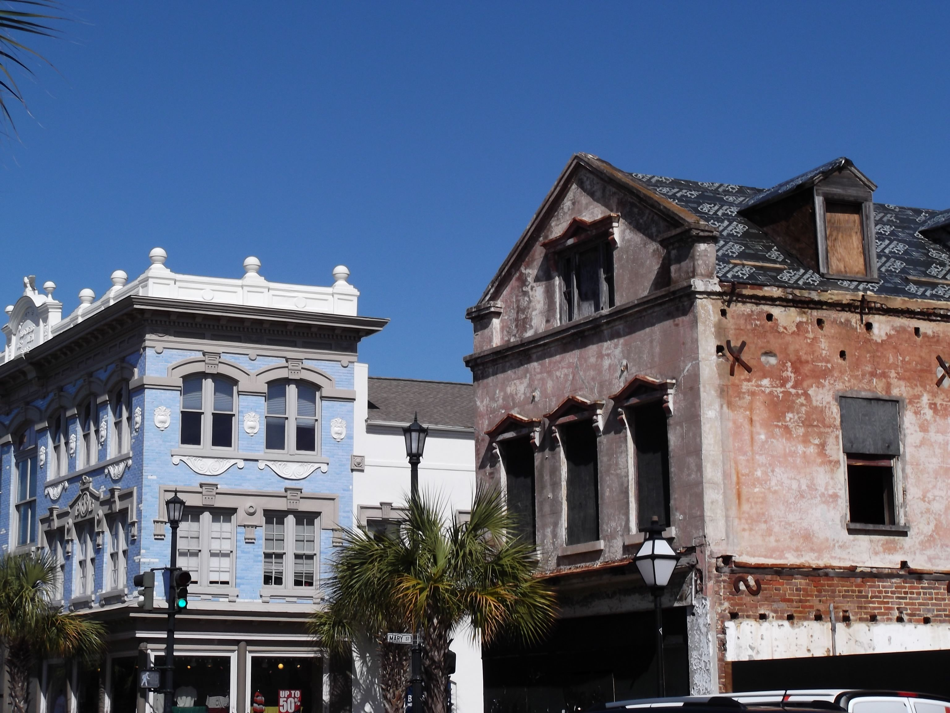 love the historic buildings