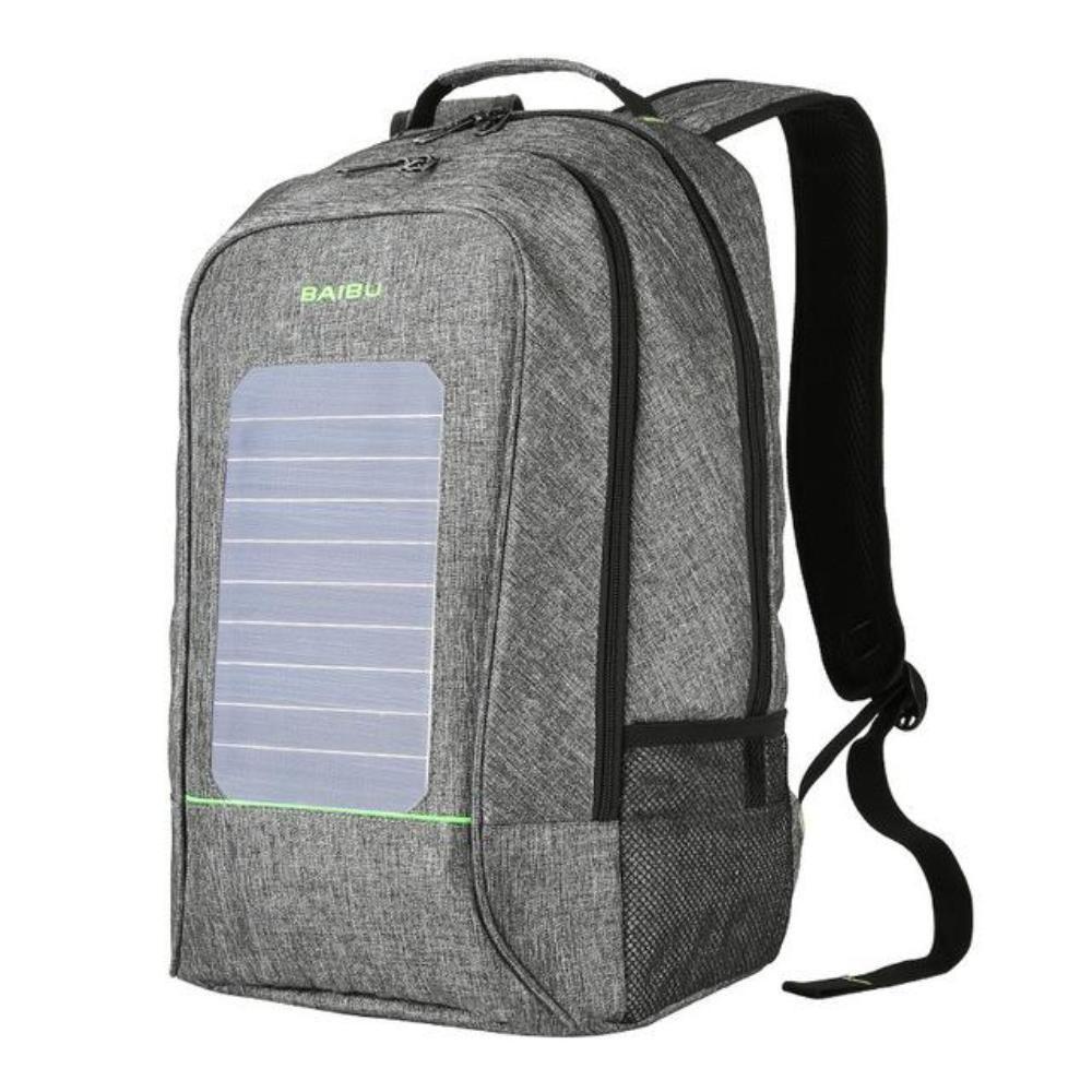 5c5c9ff78a54 BAIBU Waterproof Solar USB charging Anti-Theft 15 inch Laptop ...