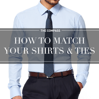 Matching your shirts and ties can be disorienting. Our guide to shirt and tie combos will give you the basics and you'll be a pro in no time.