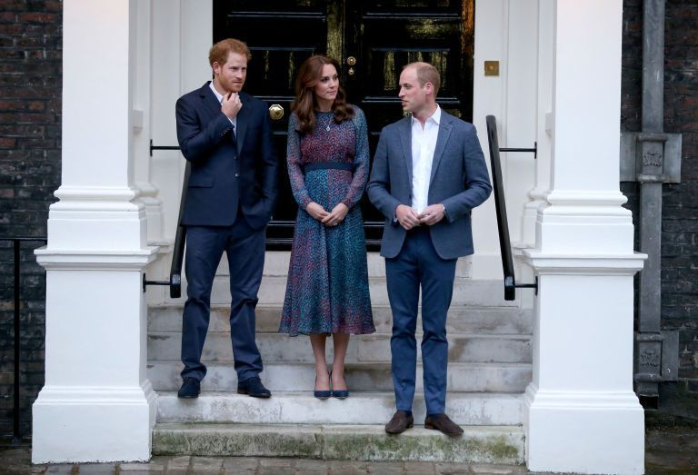 Prince William, Prince Harry and Catherine Duchess of Cambridge Photo (C)) GETTY