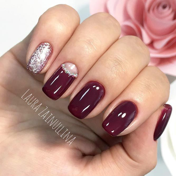 Manis That Will Make You Adore Squoval Nails ☆ See more:  https://naildesignsjournal.com/squoval-nails-adorable-manis/ #nails - 21 Manis That Will Make You Adore Squoval Nails Nails Pinterest