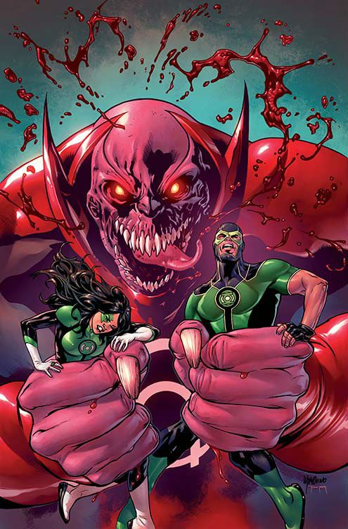 "#Lantern's #Corp #Fan #Art. (Green Lanterns. ""Rage Planet"" (Part 5) Vol.1 #5 Variant Cover) By: Robson Rocha & Jay Leisten & Rod Reis. (THE * 5 * STÅR * ÅWARD * OF: * AW YEAH, IT'S MAJOR ÅWESOMENESS!!!™)[THANK Ü 4 PINNING!!!<·><]<©>ÅÅÅ+(OB4E)"
