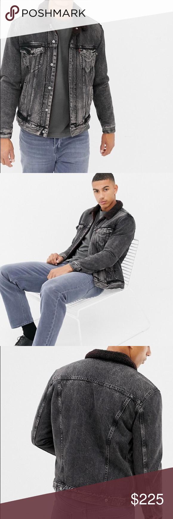 Levi's x Justin Timberlake Black Trucker Jacket Pop icon