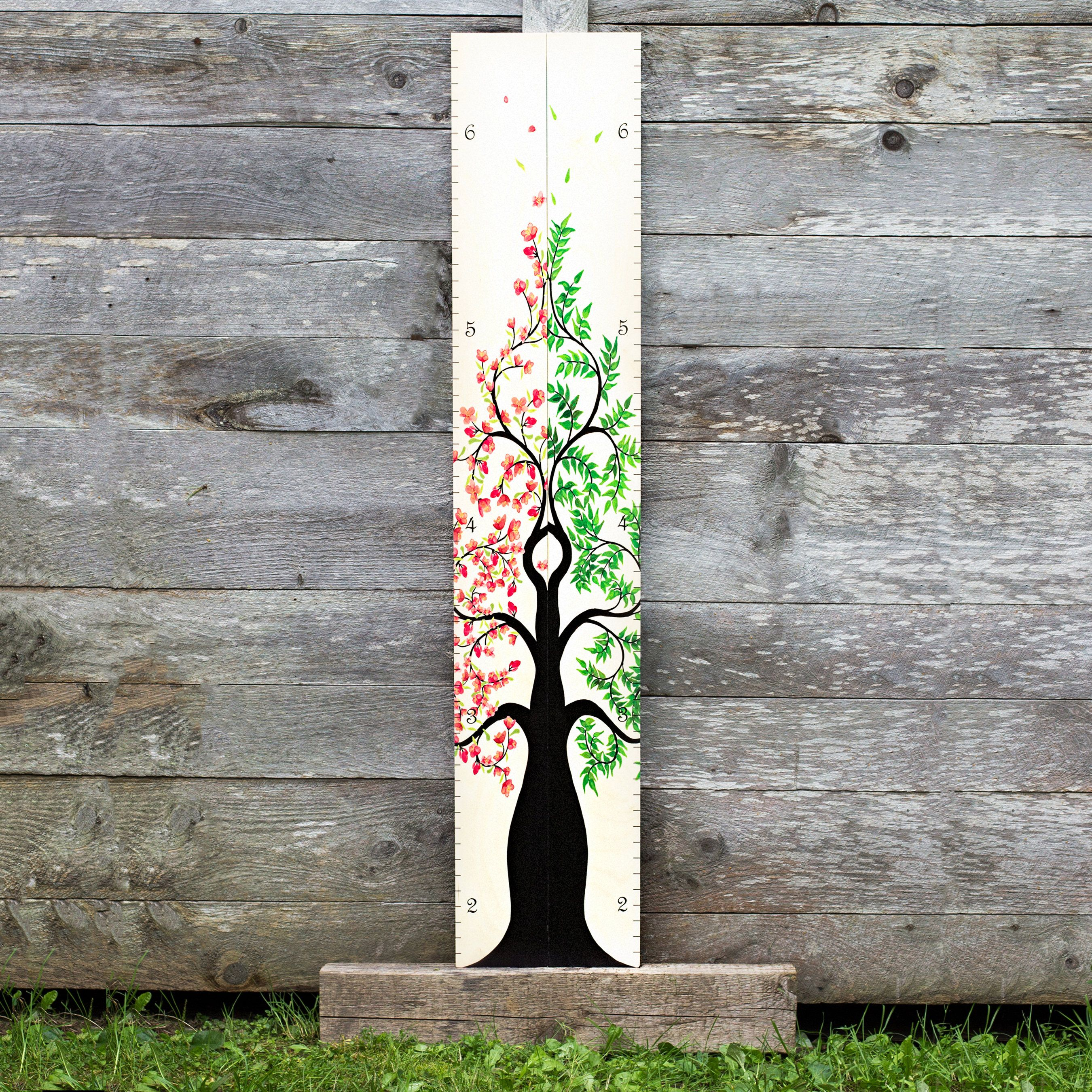 Wooden growth chart for twins siblings two wood height charts wooden growth chart for twins siblings two wood height charts for boys girls nvjuhfo Choice Image