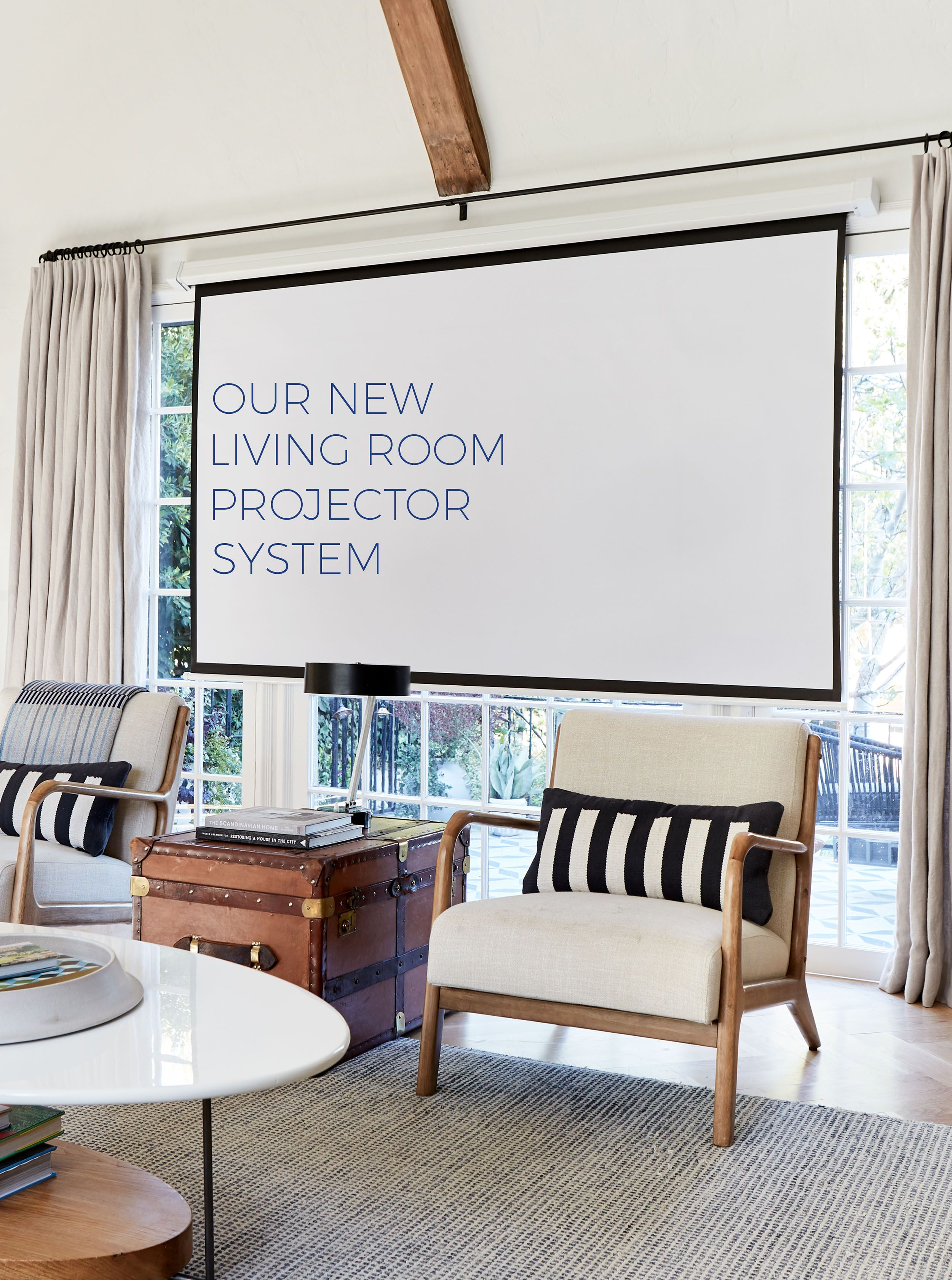 Our New (hidden) Living Room Projector System | For the Home ...