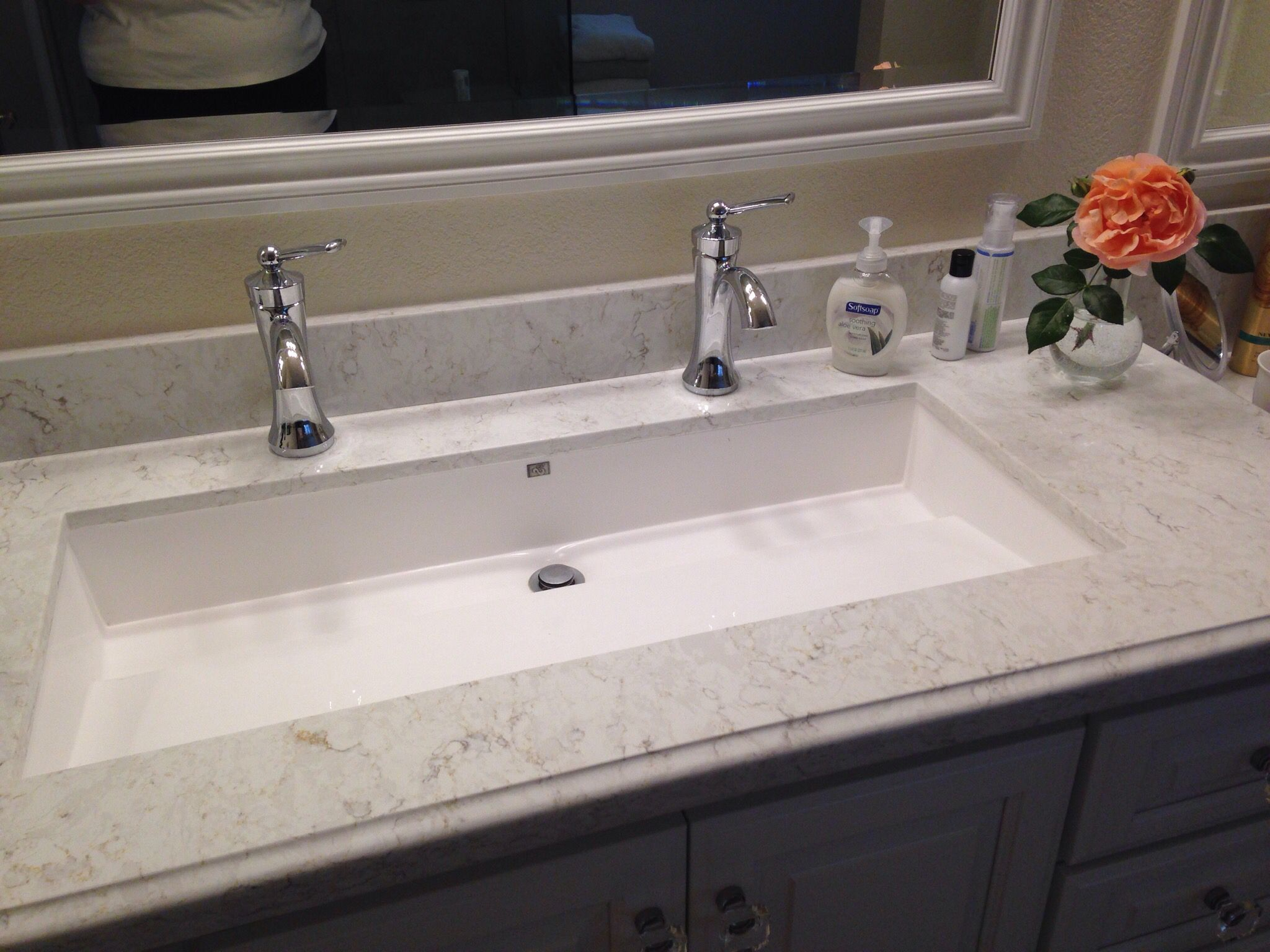 Surprising Pin By Taylor Brooke On Bathroom In 2019 Trough Sink Download Free Architecture Designs Scobabritishbridgeorg