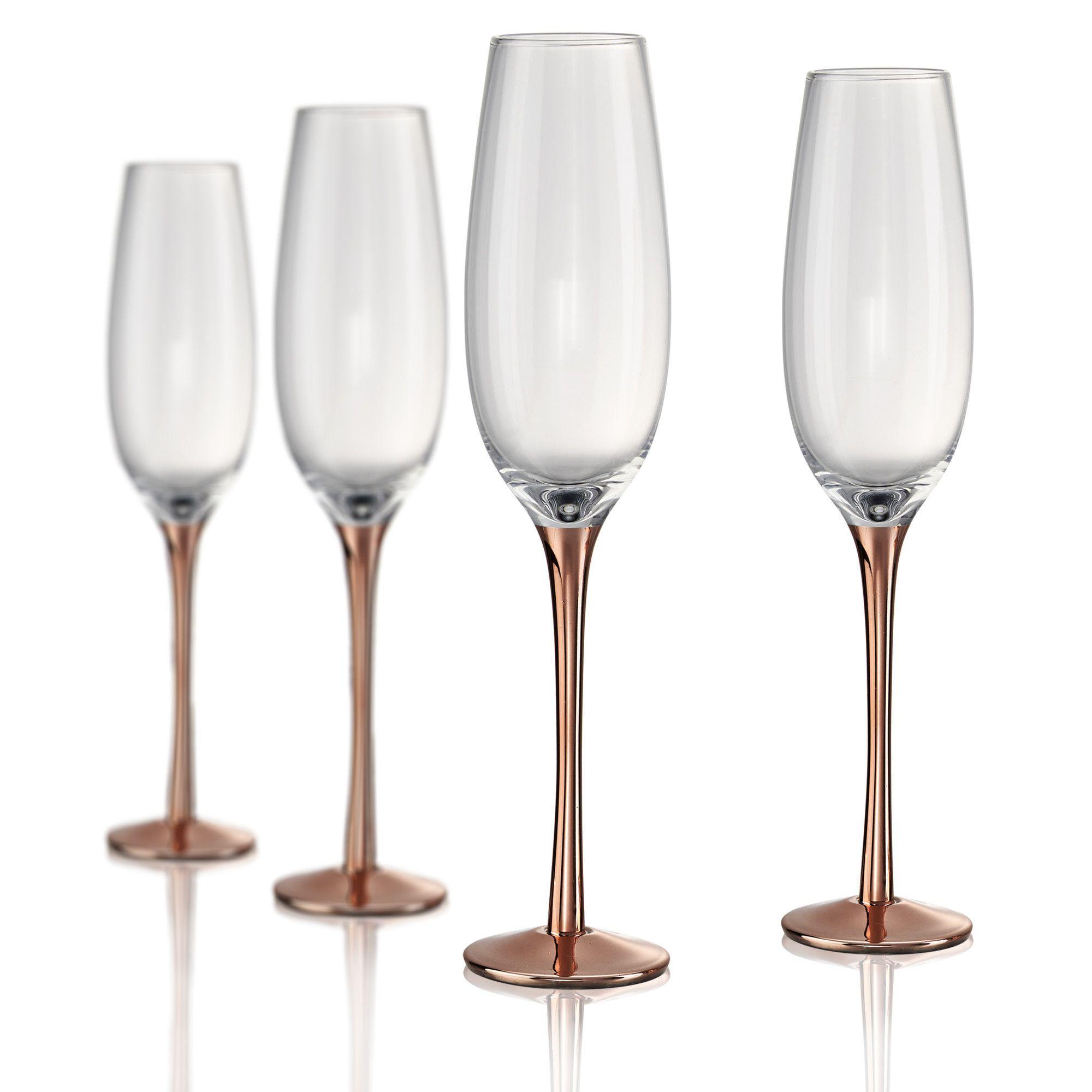 Artland Coppertino Champagne Flute (Set of 4) | Wedding | Pinterest ...